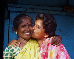 Friends in Chennai, India, 2004.