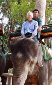 Don on elephant